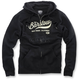 Black Barstow Zip Up Fleece