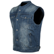 Blue Soul Shaker Denim Vest