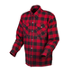 Red/Black Covert Flannel Shirt