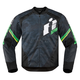 Black/Green Overlord Primary Jacket