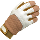 White/Tan Bantam Gloves