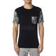 Black Exposed Pocket Premium T-Shirt