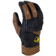 Brown Short Adventure Gloves
