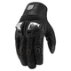 Black Retrograde Gloves