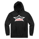 Black Splintered Hoody