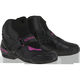 Women's Black/Pink Vented Stella SMX-1R Boot