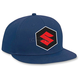 Youth Blue Suzuki Snapback Hat - 19-86412