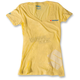 Womens  Yellow Suzuki V-Neck T-Shirt