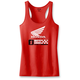 Women's Red Honda Tank Top