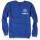 Blue Yamaha Crew Sweatshirt