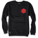 Black Suzuki Crew Sweatshirt