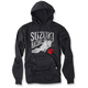 Youth Black Suzuki Hoody