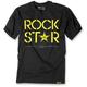 Black Rockstar Duplex Premium T-Shirt