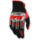 Black/White/Red Derestricted Gloves