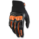 Black/Orange Derestricted Gloves