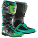 Turquoise/Lime SG-12 Boots