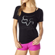 Women's Black Accelerated Wedge T-Shirt
