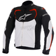 Black/White/Red T-GP Pro Textile Jacket
