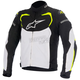 Black/White/Fluorescent Yellow T-GP Pro Textile Jacket