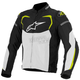 Black/White/Fluorescent Yellow T-GP Pro Air Textile Jacket