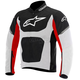 Black/White/Red Viper Air Textile Jacket