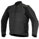 Black Devon Airflow Leather Jacket