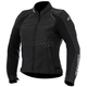 Women's Black Stella Devon Airflow Leather Jacket