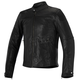 Black Brera Airflow Leather Jacket