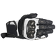 Black/White SPX Air Carbon Gloves
