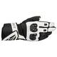 Black/White SP Air Leather Glove