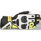 Black/White/Fluorescent Yellow SP Air Leather Glove