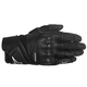 Women's Black Stella Baika Leather Glove