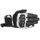 Stella Black/White SPX Air Carbon Leather Gloves