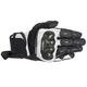 Stella Black/White SPX Air Carbon Leather Gloves