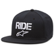 Black Ride Flat Hat