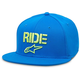 Turquoise Ride Flat Hat