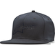 Black Ageless Flat Hat