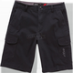 Black Radar Shorts