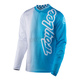 Youth White/Blue GP Air 50/50 Jersey