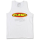 Men's White The Don Tank
