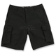 Black Angler Cargo Shorts