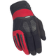 Black/Red DXR Gloves