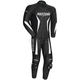 Black Latigo 2.0 Leather Race-Ready One-Piece Suit