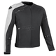 Black/White Light Speed Textile Jacket