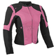 Women's Pink/Black Comin in Hot Textile Jacket