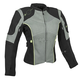Women's Gray/Black Comin in Hot Textile Jacket