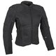 Women's Black Comin in Hot Textile Jacket
