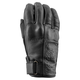 Women's Black Heart Leather Gloves