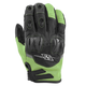 Green/Black Power and The Glory Mesh Gloves