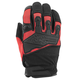 Red/Black Hammer Down Mesh Gloves